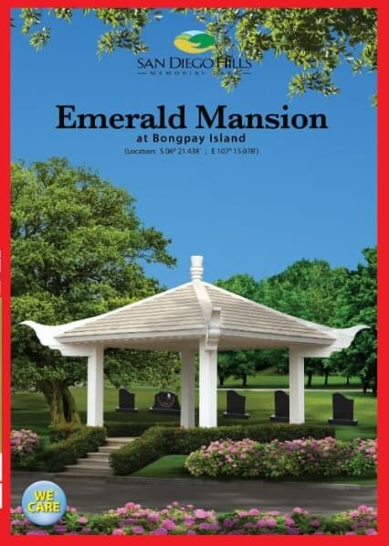 cover depan emerald mansion di san diego hills